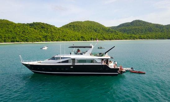 Charter A Motor Yacht In Tambon Bang Pla Soi, Thailand