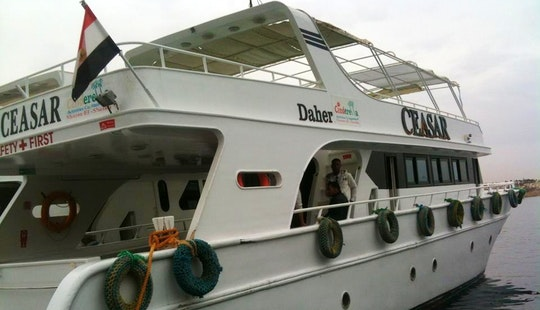 Charter A 15 Person Motor Yacht In South Sinai, Egypt