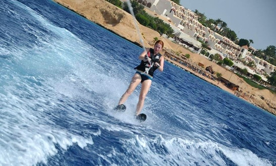 Enjoy Water Skiing In South Sinai Governorate, Egypt