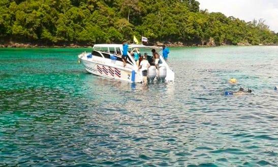 Experience Luxury On A Motor Yacht Charter In Tambon Ko Lanta Noi, Thailand
