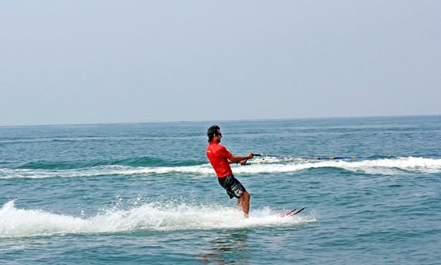 Enjoy Water Skiing in Anjuna, Goa
