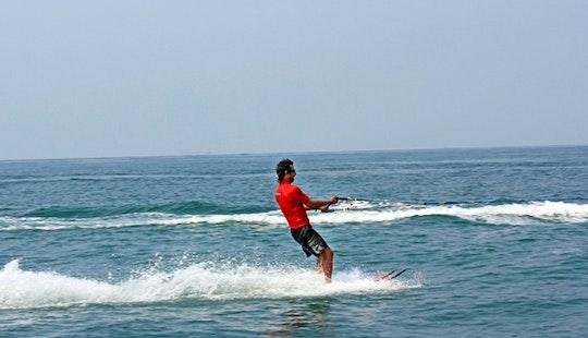 Enjoy Water Skiing In Anjuna, Goa