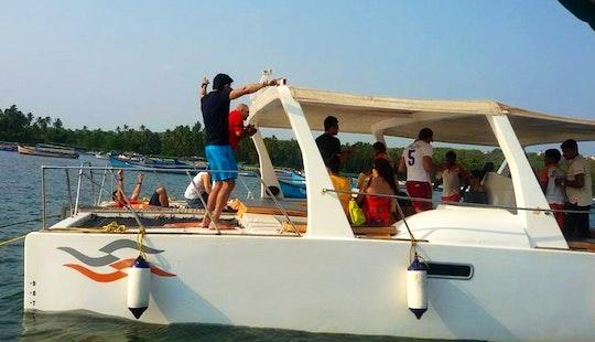 Mv Neil Power Catamaran Hire In Dona Paula