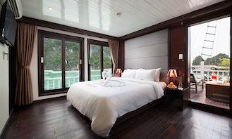 Romantic Honeymoon Suite in Halong Bay