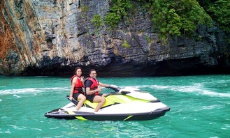Speed up on a Jet Ski in Langkawi, Malaysia