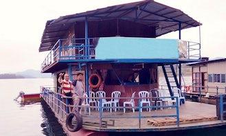 Charter Ratu 2 Houseboat in Kuala Berang, Malaysia