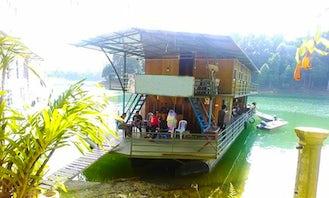 Charter Ratu 3 Houseboat in Kuala Berang, Malaysia