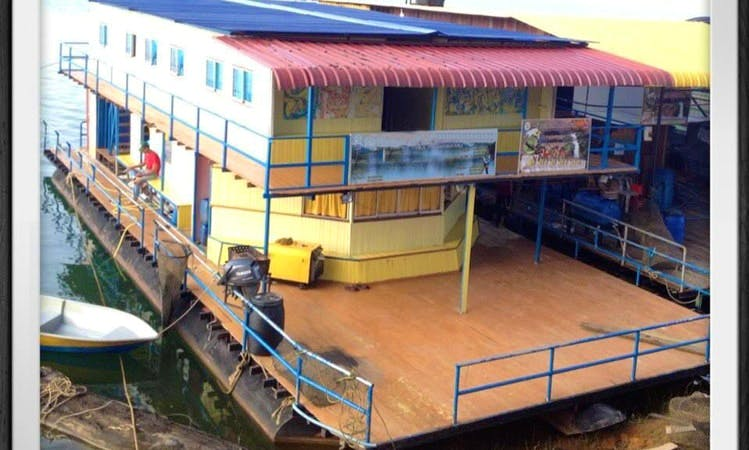 Rent this Houseboat for 20 People in Kuala Berang, Malaysia