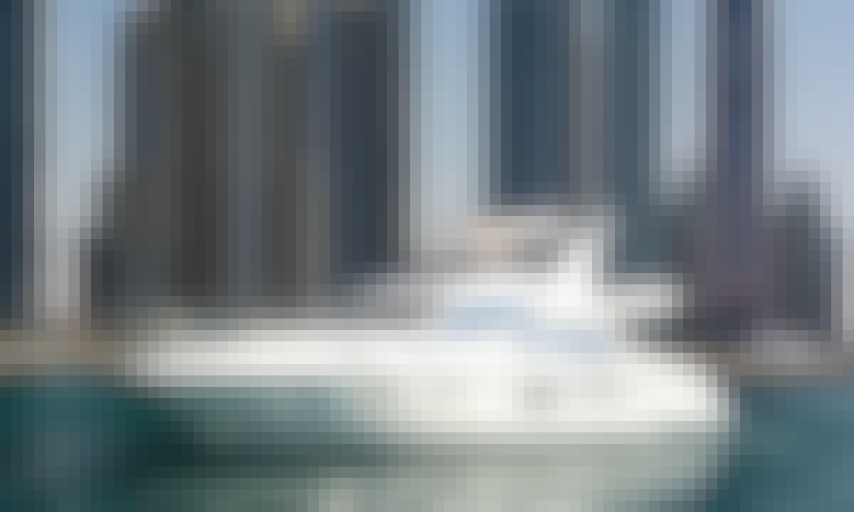 Azimuth 62ft Luxury Yacht in Marina Dubai