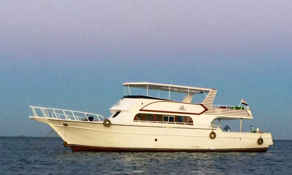 Rent a Motor Yacht in Egypt and Enjoy Fishing in Nile River
