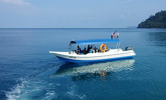 Boat Diving Trips & Padi Courses In Mersing