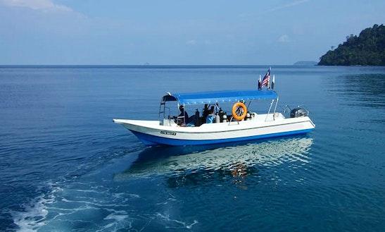 Boat Diving Trips & Padi Courses In Mersing