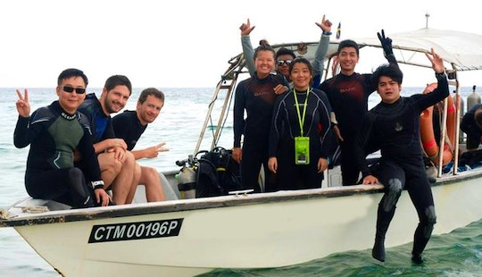 Amazing Diving Tour In Pahang, Malaysia