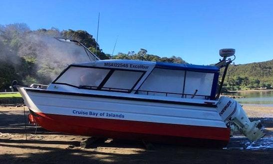 Enjoy Fishing In Rawhiti, New Zealand On Power Catamaran
