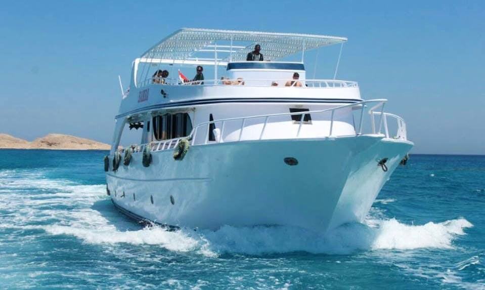 Tour on a Motor Yacht in the Red Sea Governorate, Egypt