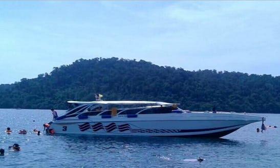 Cruise On A Motor Yacht In Tambon Ko Lanta Noi, Thailand