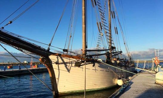 98' Estonian Schooner Rental In Tallinn Bay & Islands, Estonia