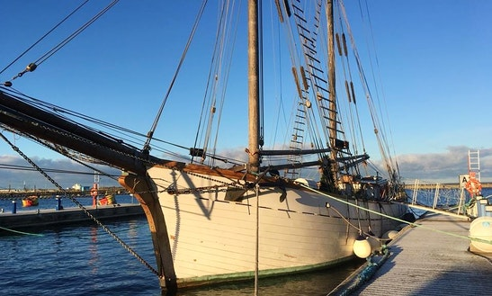98' Estonian Schooner Rental In Tallinn Bay & Islands, Estonia