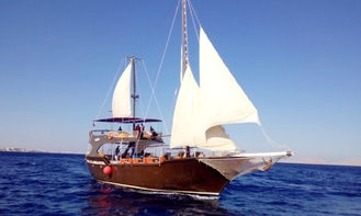 Charter a Gulet in South Sinai Governorate, Egypt