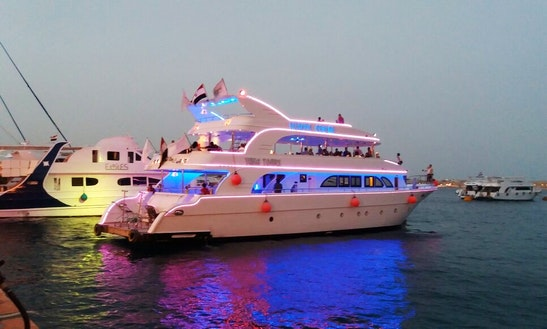 Luxurious Yacht Charter In South Sinai Governorate, Egypt