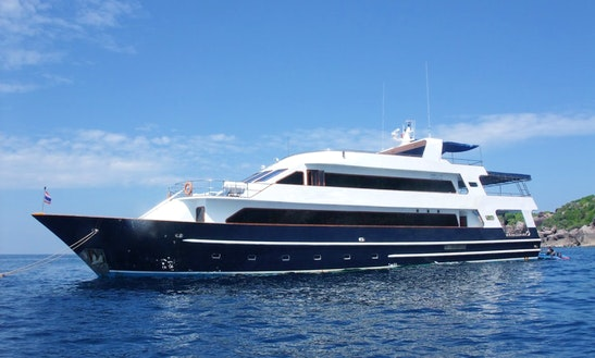 Charter My Steel-hulled Liveaboard For Scuba Diving