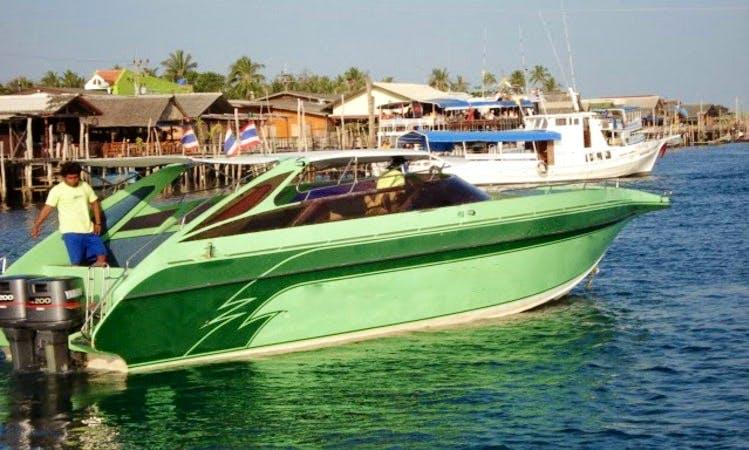 2-Engine Speed Boat Charter Tambon Ko Lanta Noi, Thailand