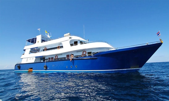 Liveaboard Dives On118' Motor Yacht From Krabi Ao Nang, Town