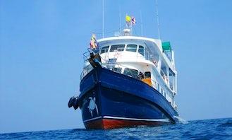 """Dive Boat """"M/V Peterpan"""" in Phangnga"""