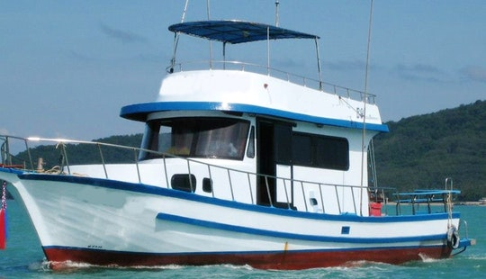 Enjoy Fishing In Phuket, Thailand On A Trawler