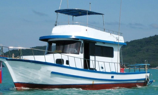 Enjoy Fishing In Phuket, Thailand On A Trawler