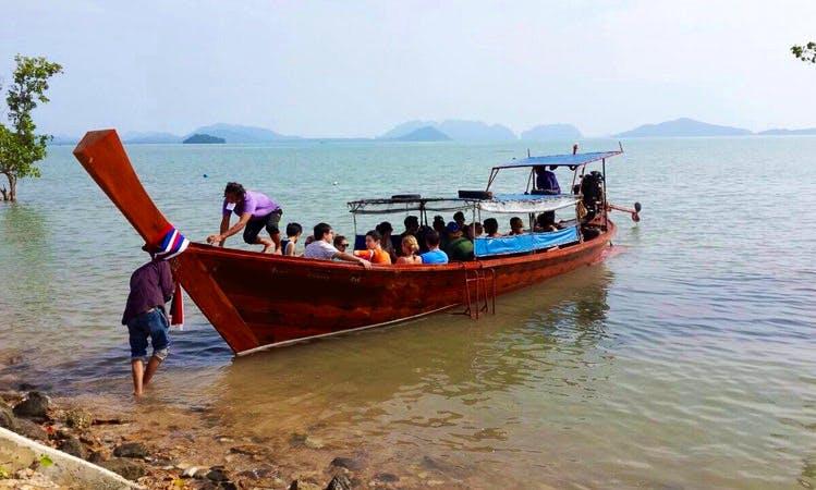 Charter on Sightseeing Boat from Tambon Ko Lanta Noi