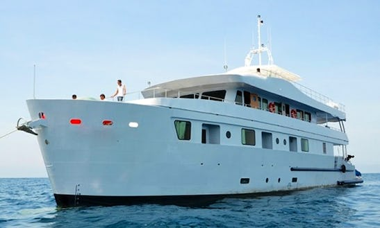 Enjoy Liveaboard Diving Trips In Phuket, Thailand