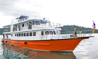 MV Sea Heaven in Phangnga