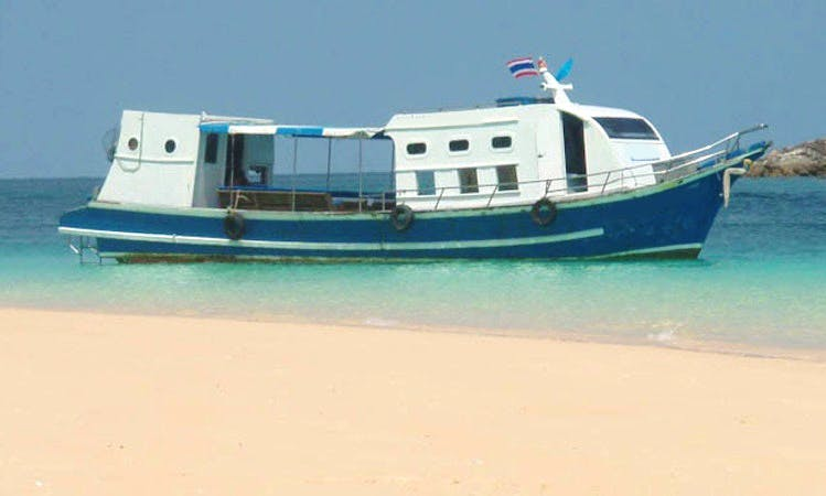Explore Tambon Ko Lanta Noi, Thailand on a Trawler