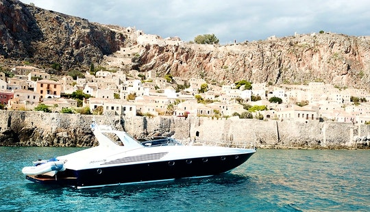 Charter The Alfamarine 58 Luxury Motor Yacht In Chania