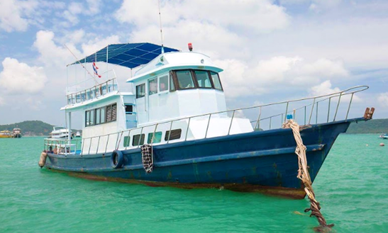 Go Fishing In Tambon Ratsada, Thailand On A Trawler For Up To 18 Passengers