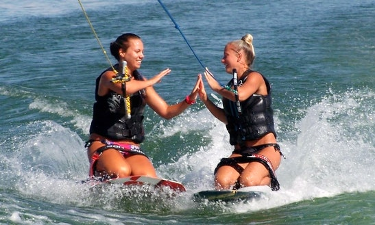Enjoy Kneeboarding In Red Sea Governorate, Egypt