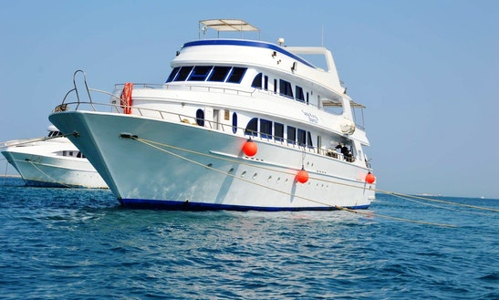 Charter 118' My Sea King Power Mega Yacht In Red Sea Governorate, Egypt