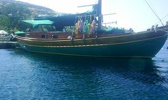 Book a 10 person Sailing Gulet Charter in Muğla, Turkey