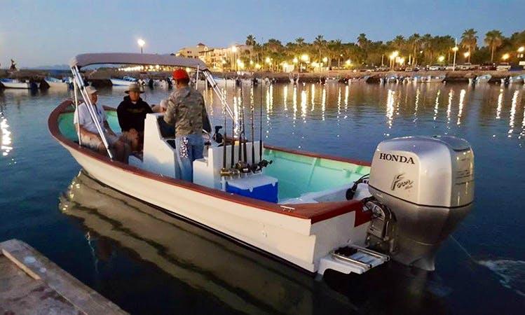 26.5ft Super Panga Fishing in Loreto, Mexico