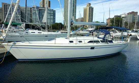 Sailing Charter On 36' Catalina Cruising Monohull In Chicago, Illinois