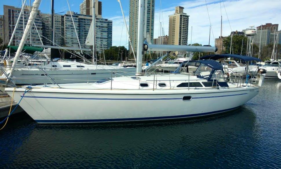 Sailing Charter On 36' Catalina Cruising Monohull In Chicago, Illinois