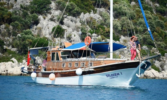 Charter A Gulet In Antalya, Turkey