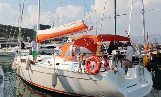 Sailing Charter On 50' Beneteau Cylclades Cruising Monohull In Split, Croatia