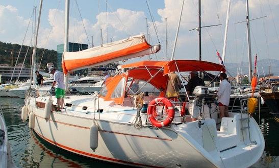 Sailing Charter On 50' Beneteau Cylclades Cruising Monohull In Split, Croatia