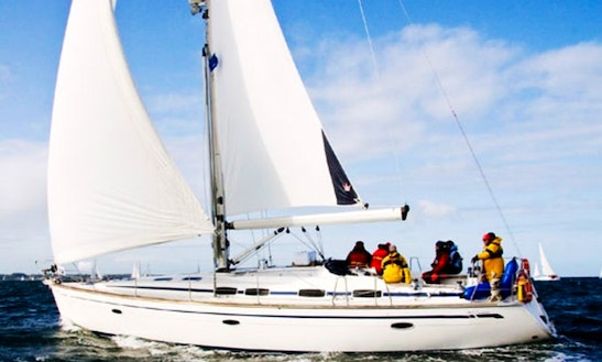 Sailing Charter For 9 People Aboard 46ft Bavaria Cruiser Sailboat In Split, Croatia