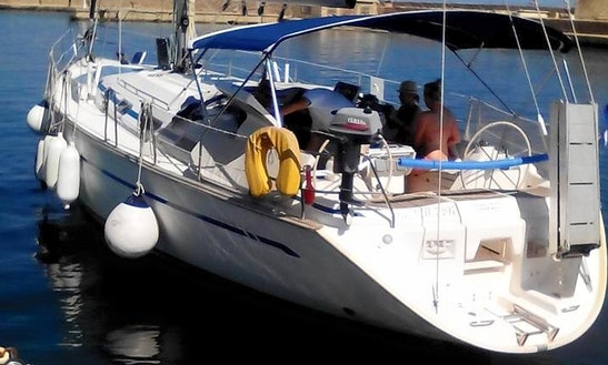 Charter A Bavaria 47 For Up To 10 People In Chania, Greece (food, Drinks, Pick-up, And Drop Off Included)