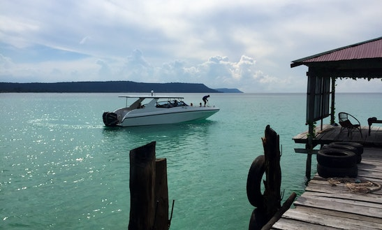 Experience The Bay Of Kompong Som With This Motor Yacht Charter In Krong Preah Sihanouk, Cambodia