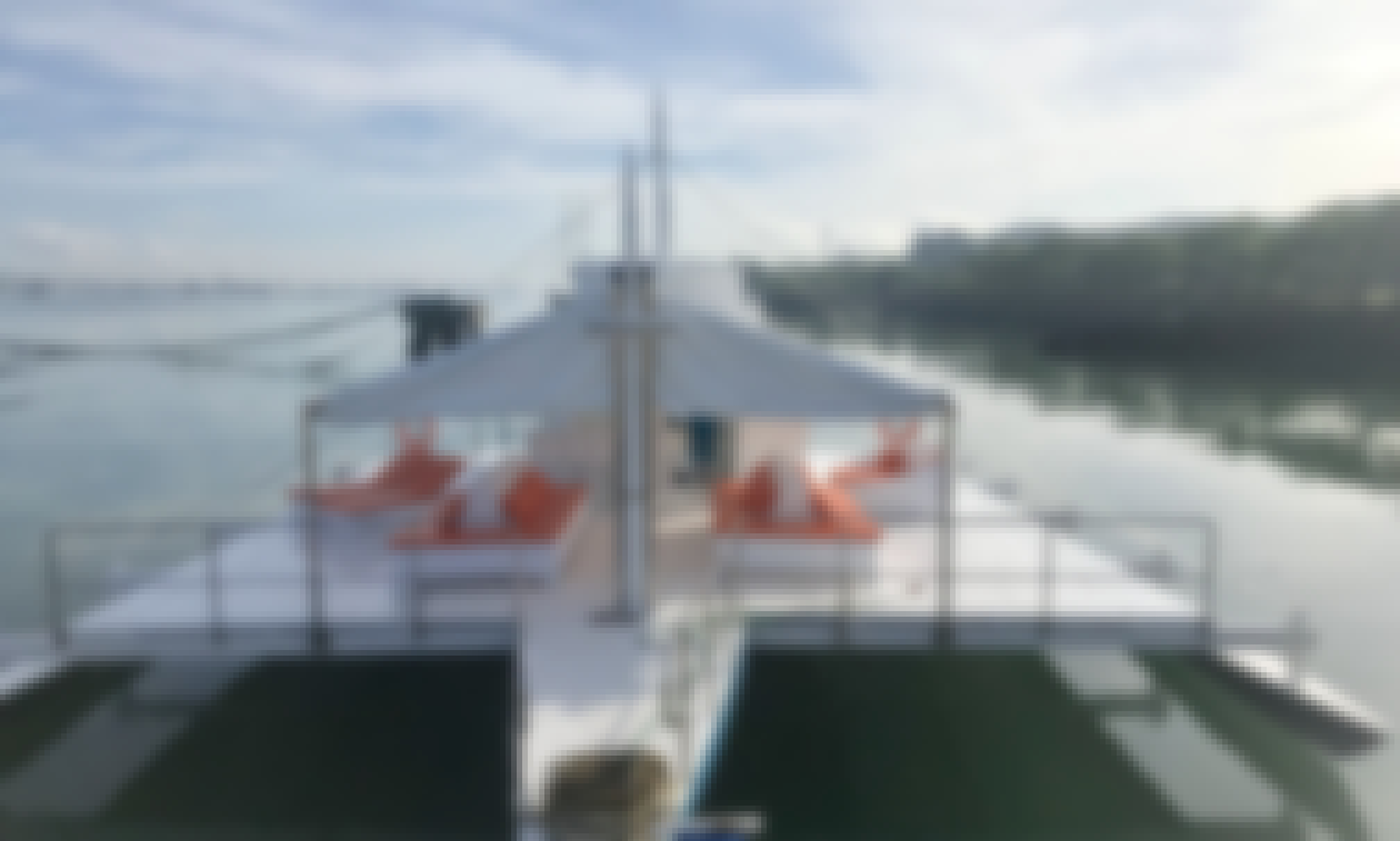 80' Trimaran Party Boat Charter in Lapu-Lapu City, Philippines