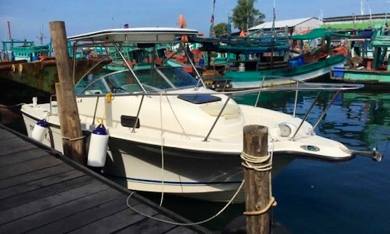 Charter An 8 Person Motor Yacht In Krong Preah Sihanouk, Cambodia